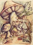 Alice in Wonderland - Watercolors by Isis-M