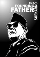 Soekarno -The Founding Father by astayoga