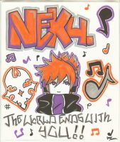 Neku design by PandaSam