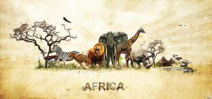 Africa by LuXo-Art