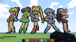 Minecraft, Sailor Moon by Pink-chi