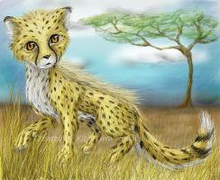 Savannah Cub by HawaiianBabidoll