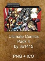 Ultimate Comics Folder Pack 4 by 3o1415