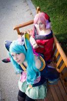 Vocaloid - Miku+Luka by Aleke