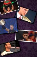 My Favorite Wrestlers from WWE Collage by 2009abc