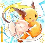 Mew and Raichu by Kidura