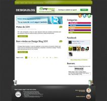 """Layout """"Design Blog"""" by canha"""