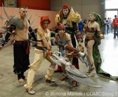 Heavenly Sword at Cartoomics by AuraRinoa