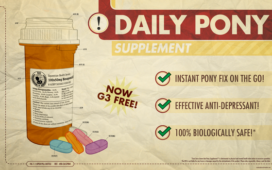 Daily Dose (Print version) by smokeybacon