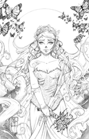 Corpse Bride Pencils by AberrantKitty