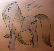 First MLP drawing for a friend by BeccaPanda