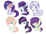 Sea Front and Rose Charm adoptables -CLOSED- by lizzy-dark-rose