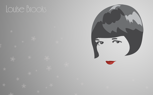 Louise Brooks - colored by Fritters