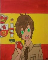 Hetalia: Spain by chokkocakes