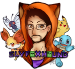 SlyFoxHound by KattsuNeko