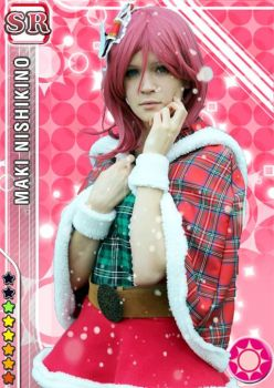 Maki Nishikino cosplay card by SeSaMki