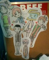 My Tackboard by CommentrArtist26