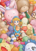 Lolicon and the animal dalls by noobest