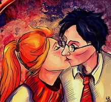 Harry and Ginny by RedGraf