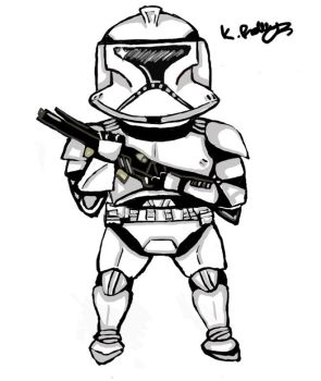 clone trooper by SHAWTYBOOSTER
