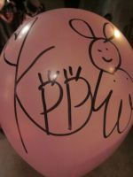 Kyary's autographed balloon. :D by Mickeybabz