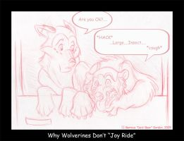 Why Wolverines Don't Joy Ride by tarkheki
