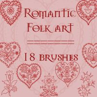Romantic Folkart by rL-Brushes