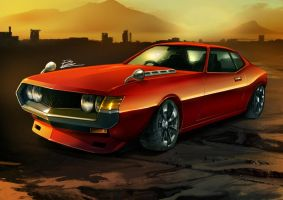 73's celica by unrealsmoker