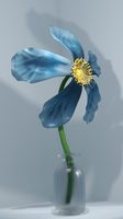 Blue flower ! by Math775