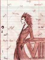 Axel Doodle by Kenzie-Mae