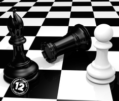 Design Every Day in December - Day 12 - Chess by deebeeArt