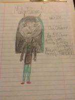 Malise Pyrope (Main Troll character, based off me) by tmnt100