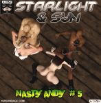 Cover of Starlight and Syn: Nasty Andy #5 Censored by B69comics