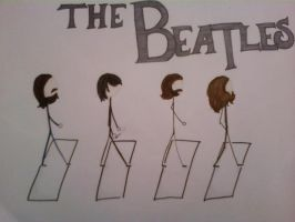 The beatles by FallOutGirlxD