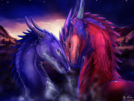 The night of dragons by Trioza