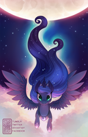 Here Comes The Night (commission) by StarshineBeast