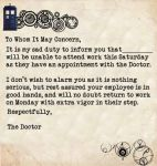 The Doctors Excuse by efawjedi