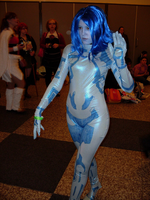 Cosplay: Cortana Halo 3 V2 by Sailor-Destiny