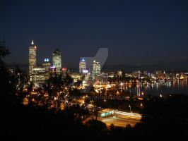Perth nightlife by blackstorm