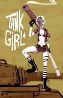 - Tank Girl - by sergio-quijada