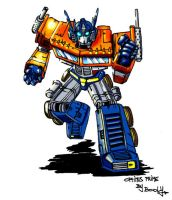 Optimus Prime by Booly78