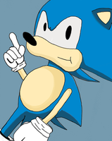 sonic coloured by Frank-castle