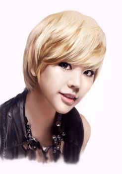 Sunny (Girls Generation) speed painting by MOROTEO56