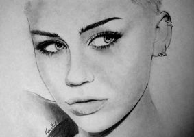 Miley Cyrus by kgpanelo