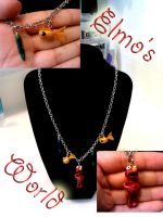 Elmo Necklace by AshiviAlpha