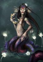 Ningyo/mermaid by Vincent-Covielloart