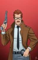 Commissioner Jim Gordon commission by phil-cho