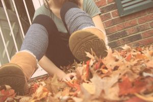 autumn under my uggs by x-chriscross-x
