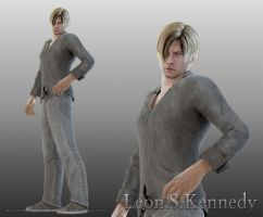 Leon.S.Kennedy by kaoyon