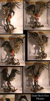 Giant Devil Claw Phoenix by ART-fromthe-HEART